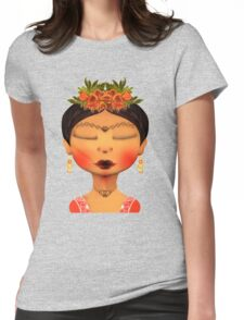 WOMAN OF THE INDIA Womens Fitted T-Shirt
