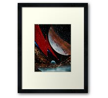 Starman in Outer Space Framed Print