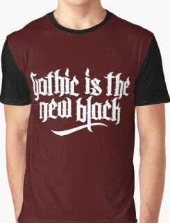 Gothic is the new black No.1 (white) Graphic T-Shirt