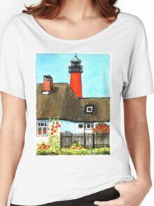 Nordsee Leuchtturm Pellworm Women's Relaxed Fit T-Shirt