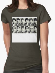 Exo School boys Womens Fitted T-Shirt
