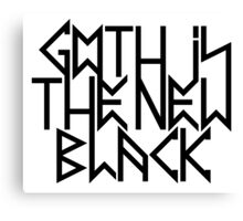 Gothic is the new black No.2 (black) Canvas Print