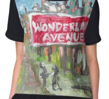 Wonderland Avenue Chiffon Top