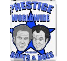 Prestige worldwide presents boats & hoes iPad Case/Skin
