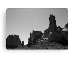 Arches NP XII BW Canvas Print