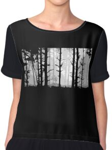 Deep In the Forest Chiffon Top