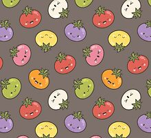Seven Shades of Tomato by Lisa Marie Robinson