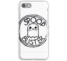 Spoopy badge iPhone Case/Skin