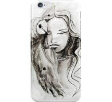 girl Owl iPhone Case/Skin