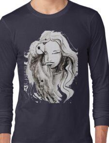 girl Owl Long Sleeve T-Shirt