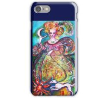 TAROTS OF THE LOST SHADOWS / THE MOON LADY iPhone Case/Skin