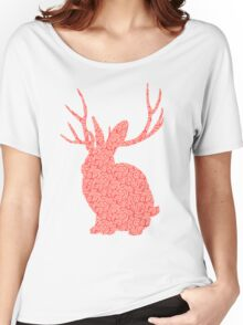 The Brains Rabbit Women's Relaxed Fit T-Shirt
