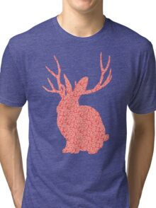The Brains Rabbit Tri-blend T-Shirt