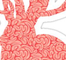 The Brains Rabbit Sticker