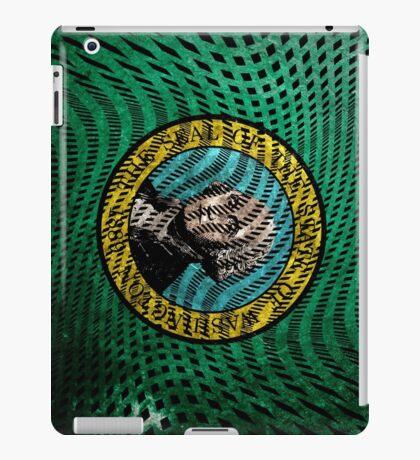 Warped Washington iPad Case/Skin