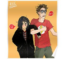 Emo & Geek Poster