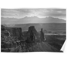 Canyonlands NP III BW Poster