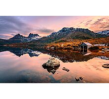 The Boatshed Photographic Print