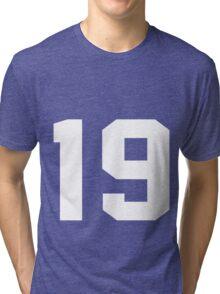 Team Jersey 19 T-shirt / Football, Soccer, Baseball Tri-blend T-Shirt