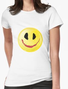 Smiley joke Womens Fitted T-Shirt