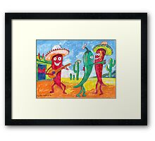 Hot Saloon  Framed Print