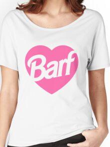 Barf Heart  Women's Relaxed Fit T-Shirt