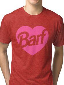 Barf Heart  Tri-blend T-Shirt