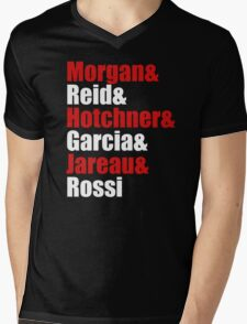 Criminal Minds Cast Mens V-Neck T-Shirt