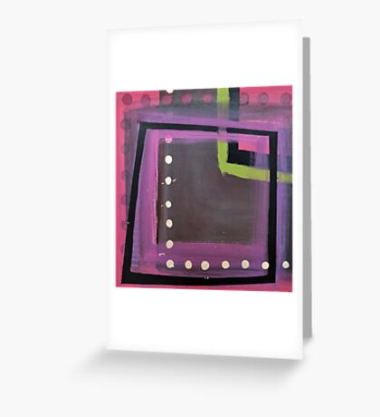 Line Series 8 Greeting Card