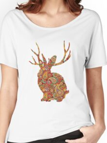 The Paisley Rabbit Women's Relaxed Fit T-Shirt