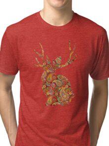 The Paisley Rabbit Tri-blend T-Shirt
