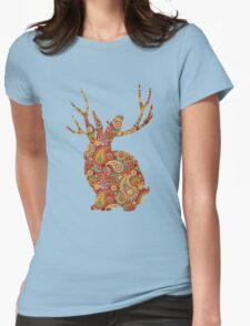 The Paisley Rabbit Womens Fitted T-Shirt