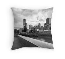 Pause for reflection - Melbourne Australia Throw Pillow