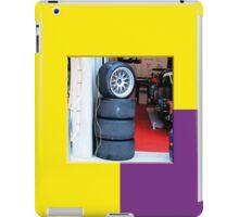 24 LeMans2 - Pit Tyres iPad Case/Skin