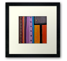 Line Series 11 Framed Print