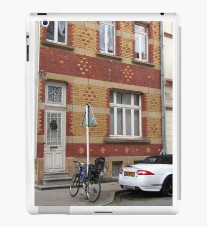 Decorative brick facade - Luxembourg iPad Case/Skin