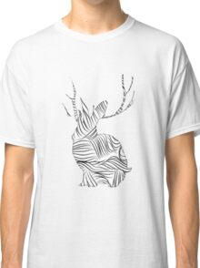 The Stripy Rabbit Classic T-Shirt