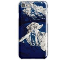 Aerial Winter Peak iPhone Case/Skin
