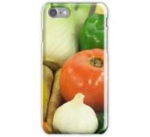 Vegetables, Fruits, Ingradients and Spices  iPhone Case/Skin