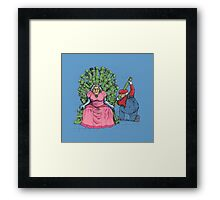 Once She Was a Princess Framed Print