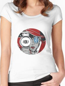 Zion T - Red Light Women's Fitted Scoop T-Shirt