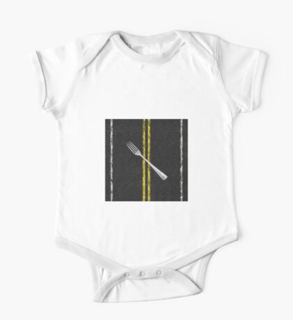 Fork In Road One Piece - Short Sleeve
