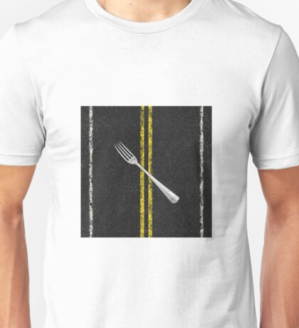Fork In Road Unisex T-Shirt