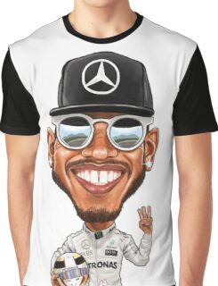 Lewis Hamilton 2016 Graphic T-Shirt