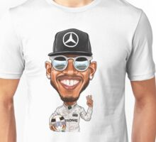Lewis Hamilton 2016 Unisex T-Shirt