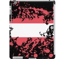 Austria Flag Ink Splatter iPad Case/Skin