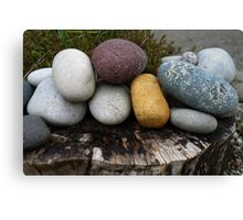 A cluster of stones Canvas Print