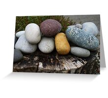 A cluster of stones Greeting Card