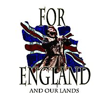 FOR ENGLAND and our lands Photographic Print