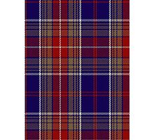 00219 Largs District Tartan  Photographic Print